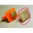 Nihon Kohden(日本光电) 编号:nd-618v  电极板 用于除颤仪TEC-5672(全新,原装)