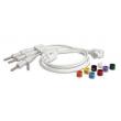 Philips(荷兰飞利浦)胸导联线 (AAMI/IEC) (69.8 厘米/27.5 )   ,编号:989803151671     全新
