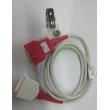 BOLATE(宝莱特 ) 编号:2406 血氧转接线 红色插头20针转15针用于监护仪 (全新原装)