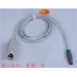 深圳埃顿 血氧探头 EM9000E 6针双血氧探头普通和数字可选  新件